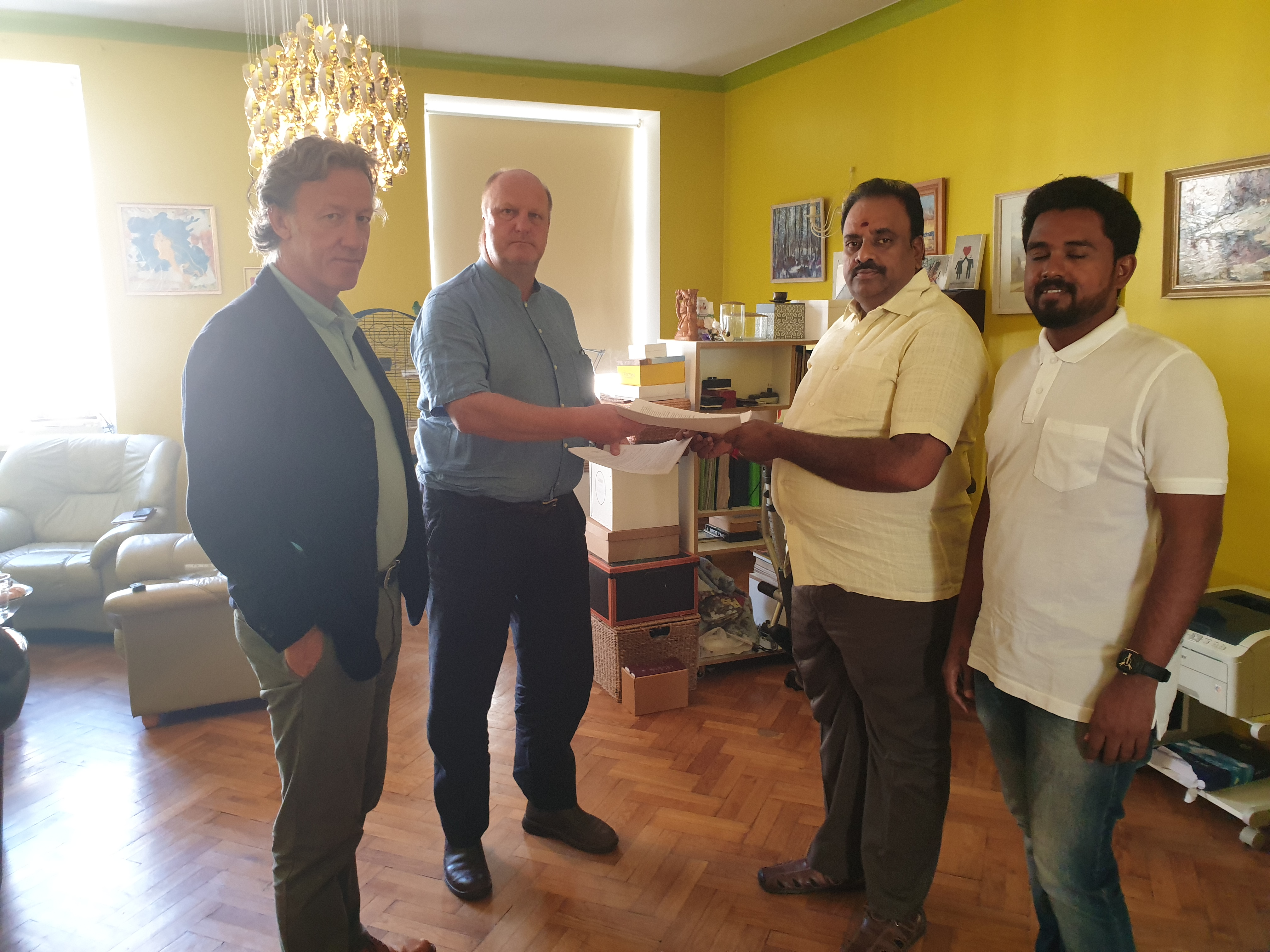 Green World Group sign agreement to supply Waste Mining Equipment to Eco Garb India
